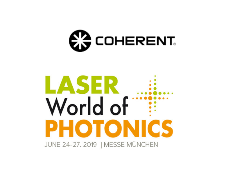 Coherent at LASER World of PHOTONICS 2019