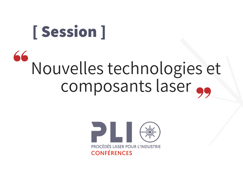 Session new technologies – PLI Conference 2019