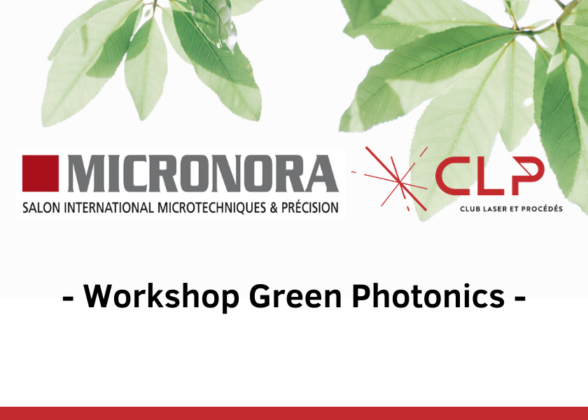 Workshop « Green photonics » | MICRONORA 2020